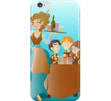 At The Three Broomsticks iPhone Case/Skin
