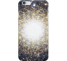 Tree of Life [Sunset Yellow] | Tight Star Cluster | Sacred Geometry iPhone Case/Skin