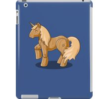 Unocchio the Wooden Unicorn iPad Case/Skin
