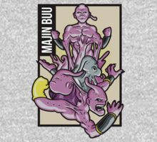Majin Buu by AhamSandwich