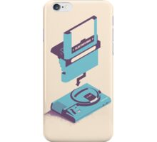 ElectroVideo Megadrive/Genesis (Blue) iPhone Case/Skin