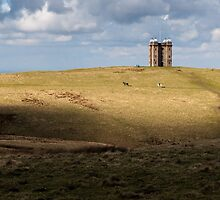 Lyme Park Hunting Tower by TomGreenPhotos