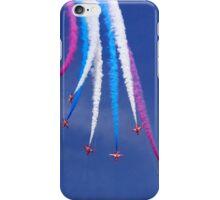 Red Arrows Break iPhone Case/Skin