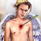 falling angel- river phoenix by matan kohn