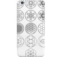13 Circles | Sacred Geometry iPhone Case/Skin
