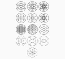 13 Circles | Sacred Geometry by SirDouglasFresh