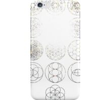 13 Circles [Tight Cluster Galaxy] | Sacred Geometry iPhone Case/Skin