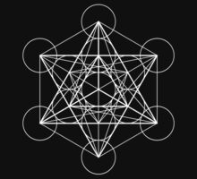 Metatron's Cube + Star of David | Sacred Geometry by SirDouglasFresh