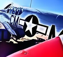 P-51 Mustang, Cadillac Of The Sky by Johnnyagogo