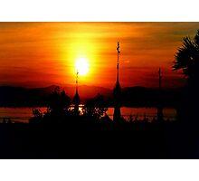 Sunset from Shampoo Island © Photographic Print