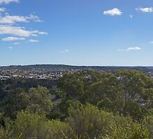 Historical Goulburn Panorama by Steve Randall