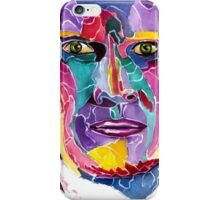 Sixth Doctor from doctor who / Colin Baker iPhone Case/Skin