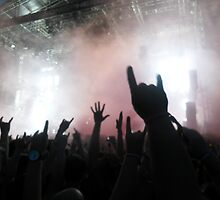 Hands to the Sky - Sonisphere 2014 by Thalia Bristow