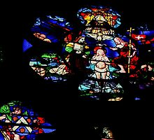 Baptism of Jesus Cathedral St Etienne Chalons sur Marne France 198405060066 by Fred Mitchell