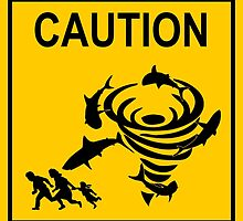 Sharknado Crossing by AngryMongo