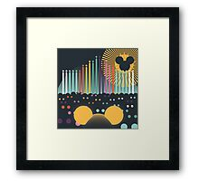 World of Color Framed Print