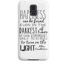 Turn On The Light Samsung Galaxy Case/Skin