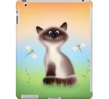Sly Himalayan Cat & Butterflies iPad Case/Skin
