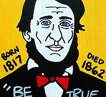 Henry David Thoreau by krusefolkart