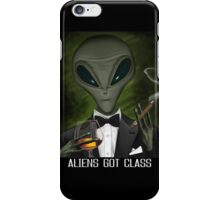 Aliens Got Class iPhone Case/Skin