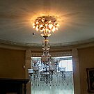Beautiful Crystal Chandelier, Lambert Castle by Jane Neill-Hancock