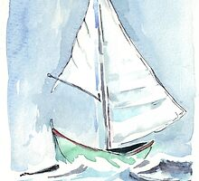 Sail away from the safe harbour by Maree  Clarkson