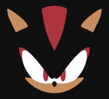 Minimalist Shadow the Hedgehog by James Hall
