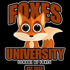 Foxes University  2 by Adamzworld