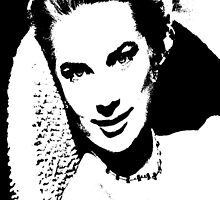 Grace Kelly Ponders by Museenglish