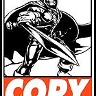 Taskmaster Copy Obey Design by SquallAndSeifer
