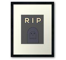 Ghostly Remembrance  Framed Print