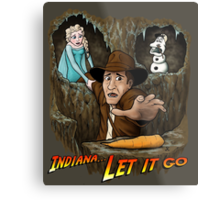 Indiana... Let It Go Metal Print