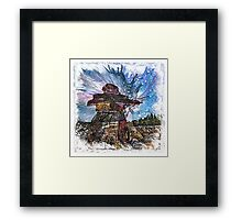 The Atlas of Dreams - Color Plate 161 Framed Print