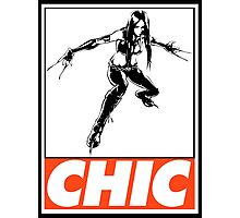 X-23 Chic Obey Design Photographic Print