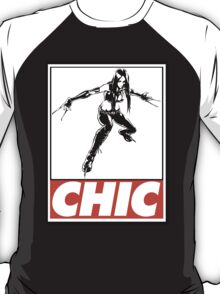 X-23 Chic Obey Design T-Shirt