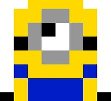 Pixel Minion by lonelycubone