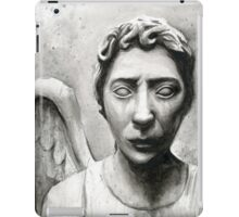 Weeping Angel - Don't Blink! iPad Case/Skin