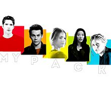 teen wolf - my pack by Dylanoposey