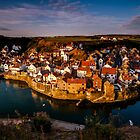 Dawn at Staithes by Dave Hudspeth