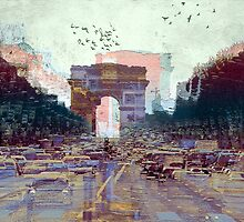 Parisian Mosaic - Piece 25 - Les Champs-Élysées by Igor Shrayer