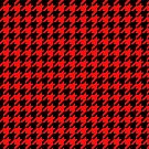 Dogtooth / Houndstooth red by connor95