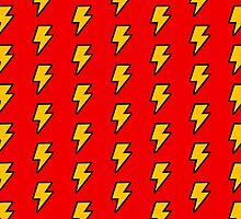 Cartoon Lightning Bolt pattern by jezkemp