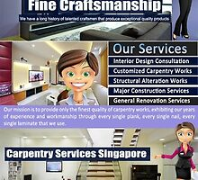 Carpentry Work Singapore by DesignSingapor