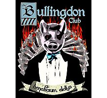 the Bullingdon Club Photographic Print