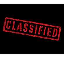 Classified Photographic Print