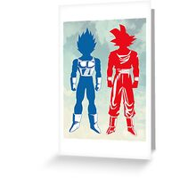 Warriors Greeting Card