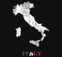 Italy map by vinainna