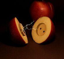Electric apples by JBlaminsky
