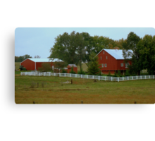Country Life (SMALLTOWN USA series)  ^ Canvas Print
