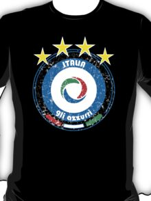 World Cup Football 2/8 - Team Italia (distressed) T-Shirt